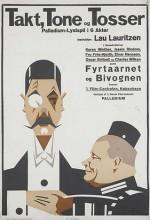 Takt, Tone Og Tosser (1925) afişi