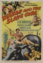 Tarzan And The Slave Girl (1950) afişi