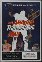 The Amazing Transparent Man (1960) afişi