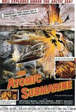 The Atomic Submarine (1959) afişi