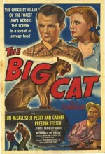 The Big Cat (1949) afişi