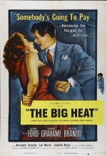 The Big Heat (1953) afişi