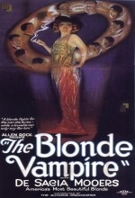 The Blonde Vampire (1922) afişi