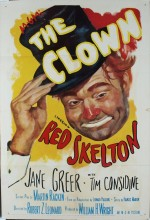 The Clown (1953) afişi