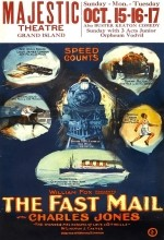 The Fast Mail (1922) afişi