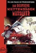 The German Chainsaw Massacre (1991) afişi