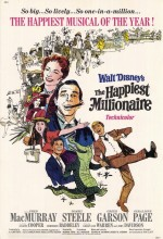 The Happiest Millionaire (1967) afişi