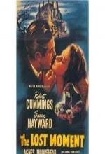 The Lost Moment (1947) afişi