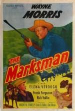 The Marksman (ı) (1953) afişi