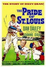 The Pride Of St. Louis (1952) afişi