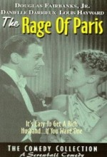The Rage Of Paris (1938) afişi