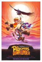 The Rescuers Down Under (1990) afişi