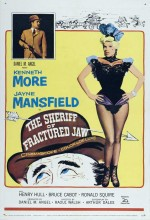 The Sheriff Of Fractured Jaw (1958) afişi