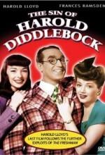The Sin Of Harold Diddlebock (1947) afişi