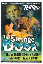The Strange Door (1951) afişi