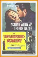 The Unguarded Moment (1956) afişi