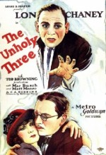 The Unholy Three (1925) afişi