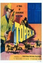 Topeka (1953) afişi