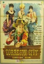 Torrejón City (1962) afişi