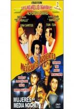 Tres Mexicanos Ardientes (1986) afişi