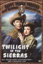 Twilight In The Sierras (1950) afişi