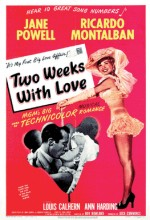 Two Weeks With Love (1950) afişi