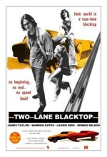 Two-lane Blacktop (1971) afişi