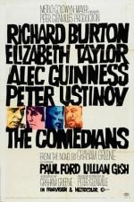 The Comedians (1967) afişi