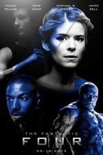 The Fantastic Four (2015) afişi