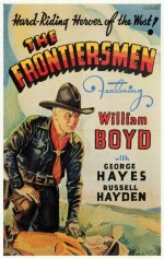 The Frontiersmen (1938) afişi