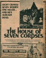 The House of Seven Corpses (1974) afişi