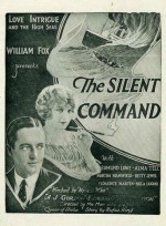 The Silent Command (1923) afişi