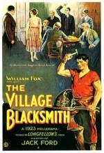 The Village Blacksmith (1922) afişi