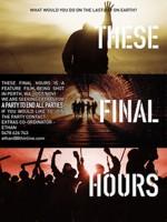 Bu Son Saatler (2013) afişi