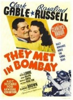 They Met In Bombay (1941) afişi