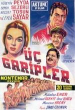 Üç Garipler (1957) afişi