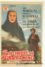 Un Hombre Va Por El Camino (1949) afişi