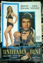 Unutama Beni (1974) afişi