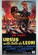 Ursus Nella Valle Dei Leoni (1961) afişi