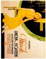 Under 18 (1931) afişi