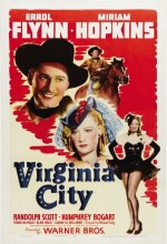 Virginia City (1940) afişi