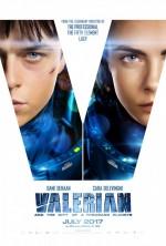 Valerian ve Bin Gezegen İmparatorluğu (2017) afişi