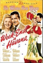 Week-end In Havana (1941) afişi