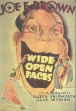Wide Open Faces (1938) afişi