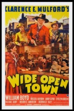 Wide Open Town (1941) afişi