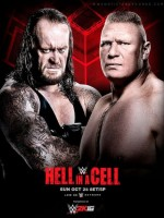 WWE Hell in a Cell (2015) afişi