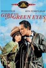 Yeşil Gözlü Kız (1964) afişi