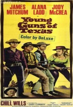 Young Guns Of Texas (1962) afişi