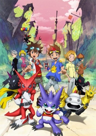 Digimon Xros Wars: The Hunting Boys Running Through Time