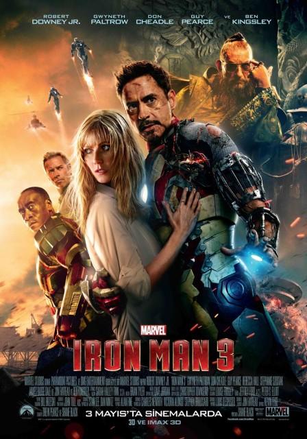 İron Man 3 – Demir Adam 3 Filmi Mobil İzle
